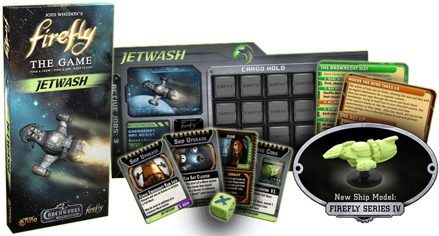 Firefly: The Game - Jetwash components