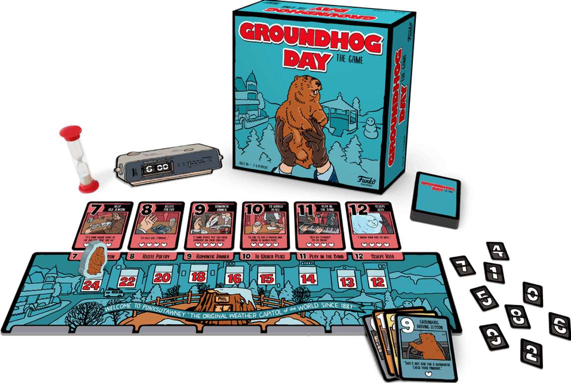 Groundhog Day: The Game components