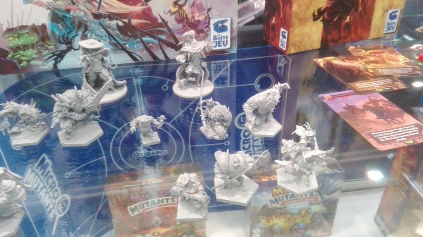Clash of Rage miniatures