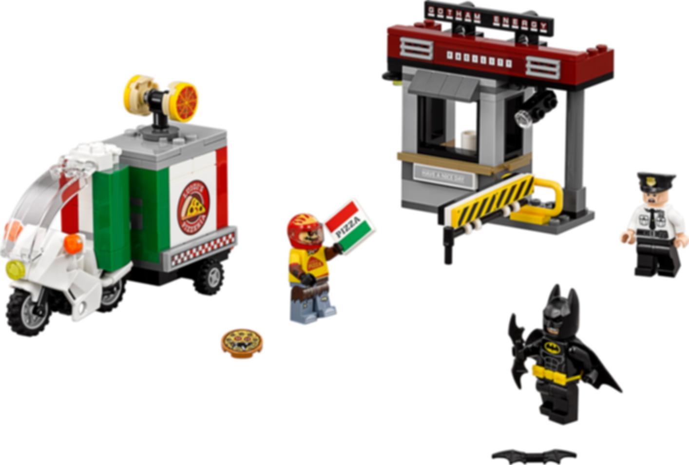 LEGO® Batman Movie Scarecrow Special Delivery components