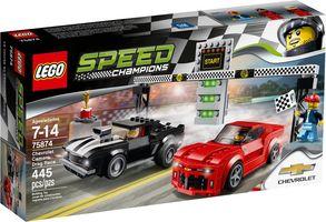 LEGO® Speed Champions Chevrolet Camaro dragracer