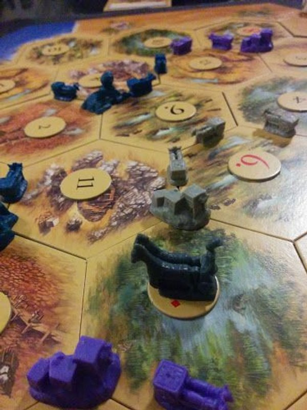 Catan: Ancient Egypt gameplay