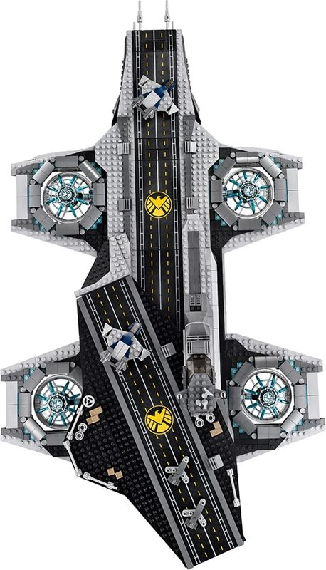 The SHIELD Helicarrier components