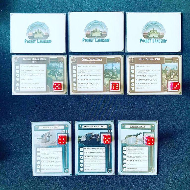 Pocket Landship cards