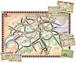 Ticket to Ride: Switzerland components