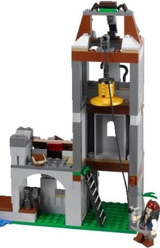 LEGO® Duel at the Mill back side