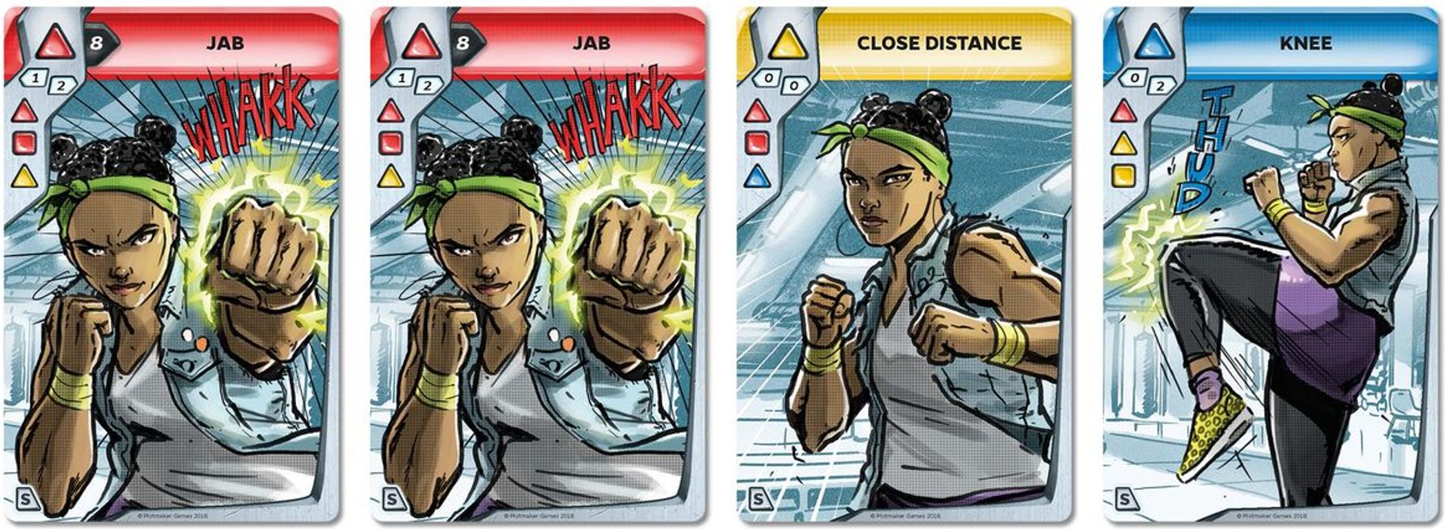 Combo Fighter cards