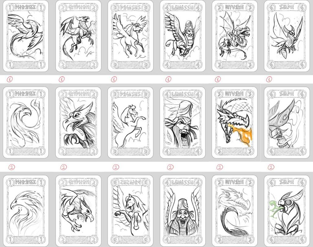 Divinity Derby cards