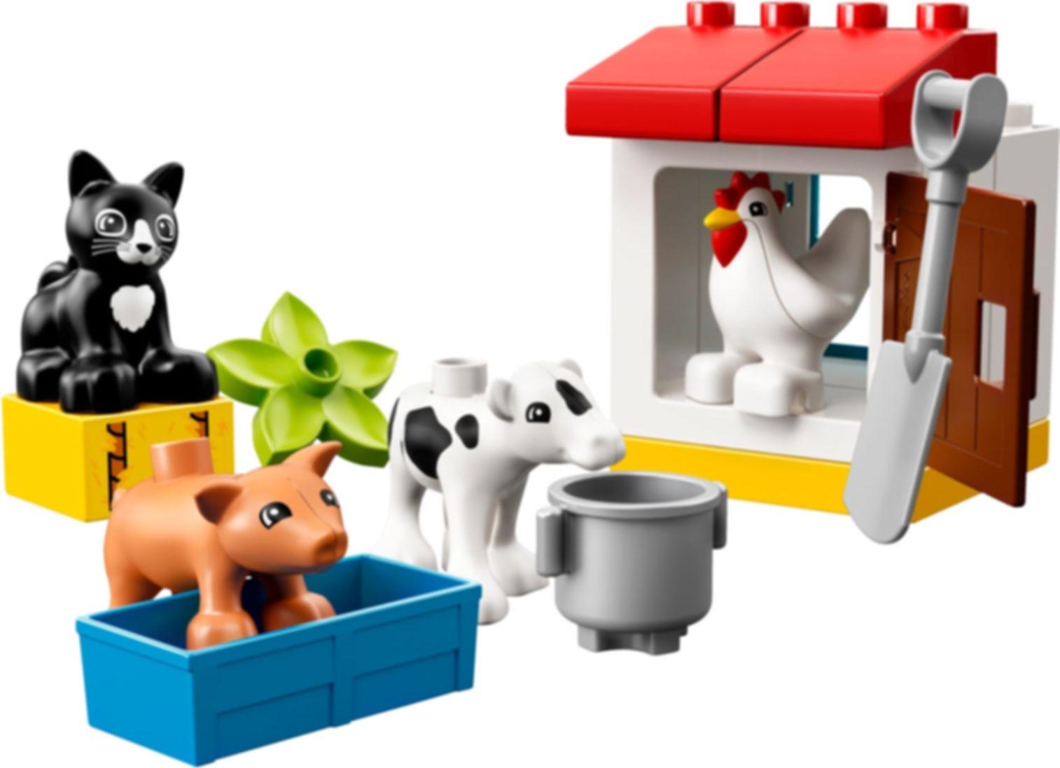 LEGO® DUPLO® Farm Animals components