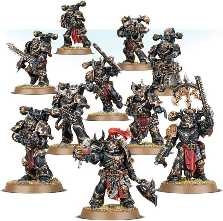Chaos Space Marines miniatures