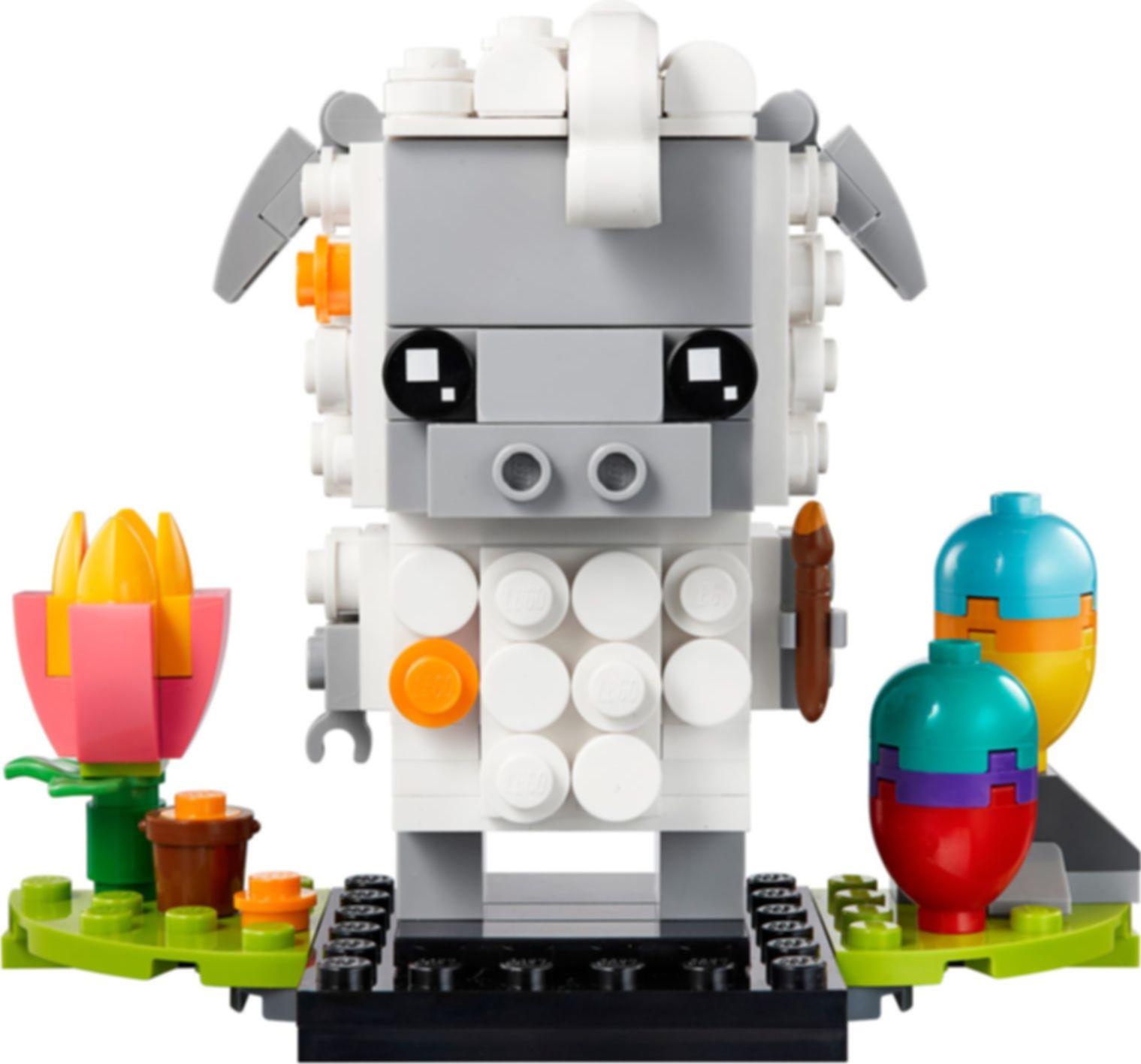 LEGO® BrickHeadz™ Easter Sheep components