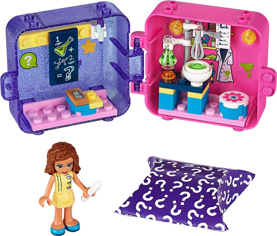Olivia's Play Cube components