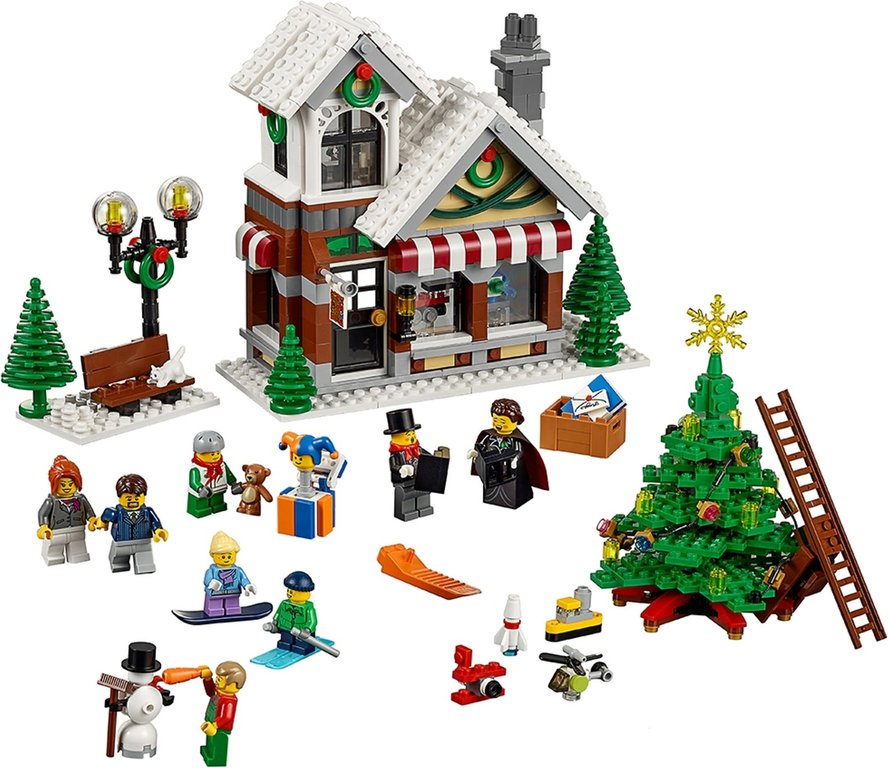 LEGO® Creator Expert Winter Toy Shop components