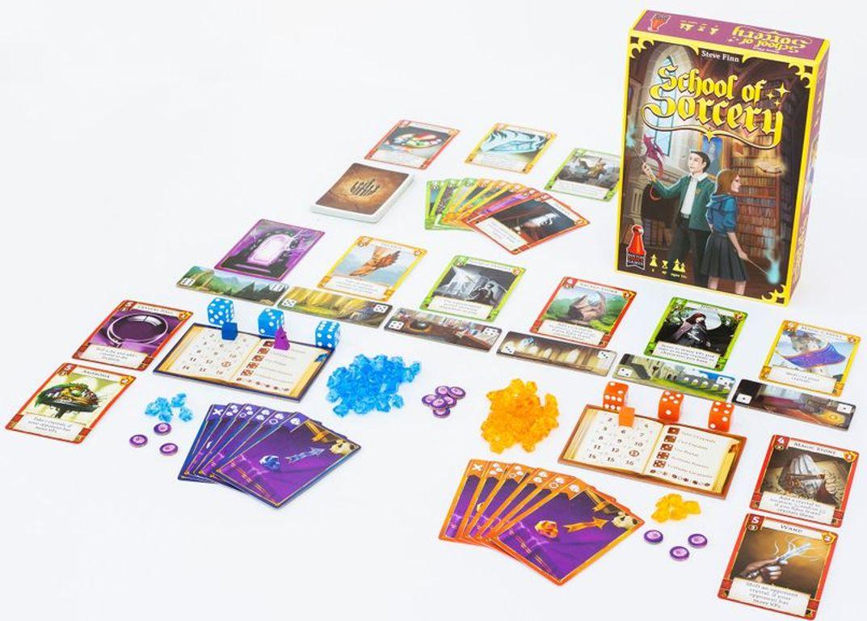 School of Sorcery components