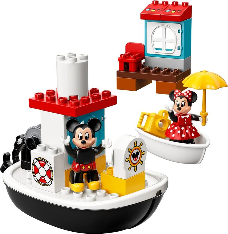Mickey's Boat components