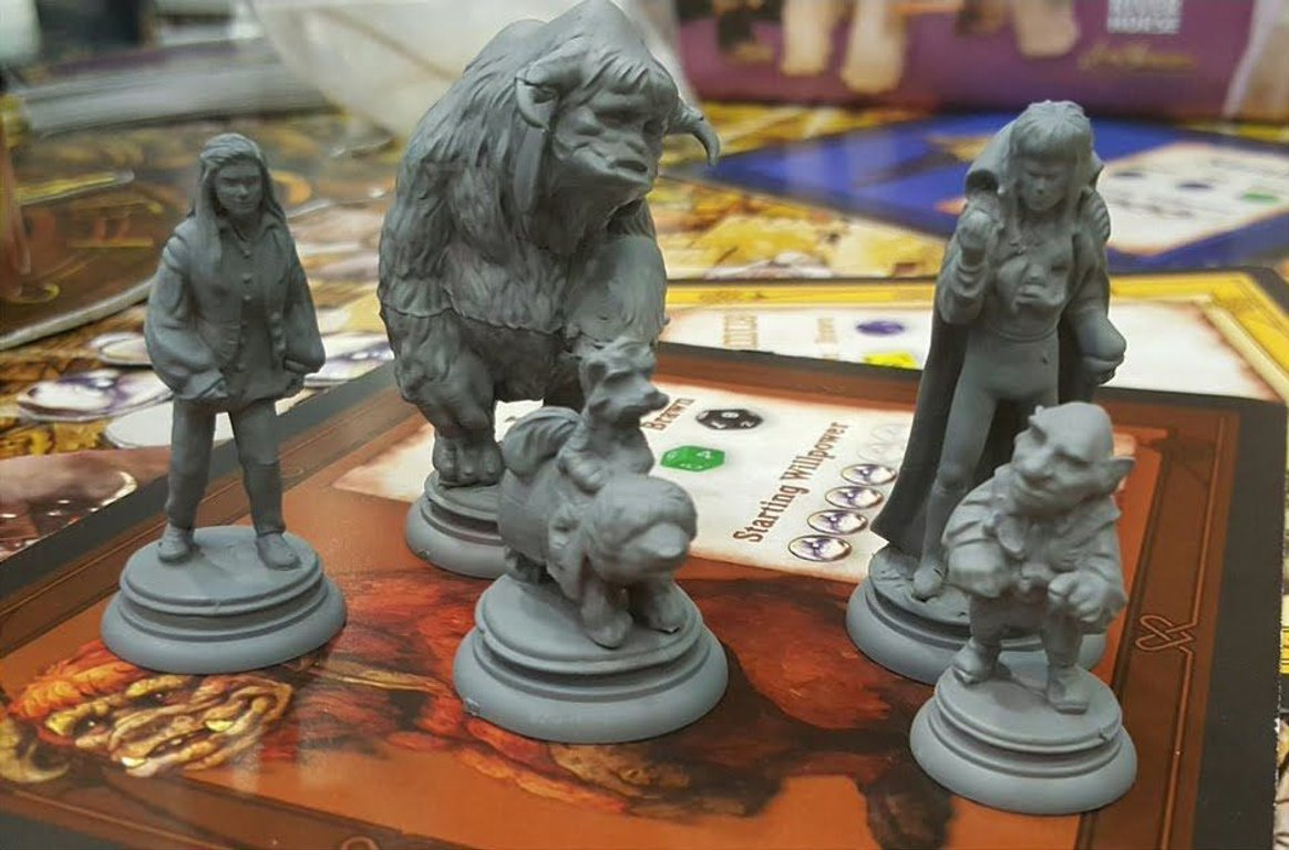 Jim Henson's Labyrinth: The Board Game miniatures