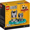 LEGO® BrickHeadz™ Shorthair Cats back of the box