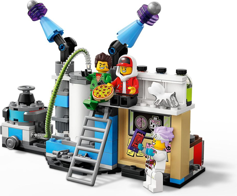 LEGO® Hidden Side J.B.'s Ghost Lab components