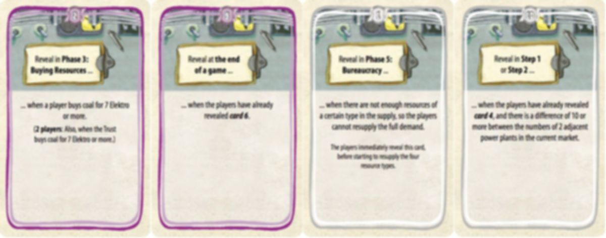 Power Grid: Fabled Expansion cards