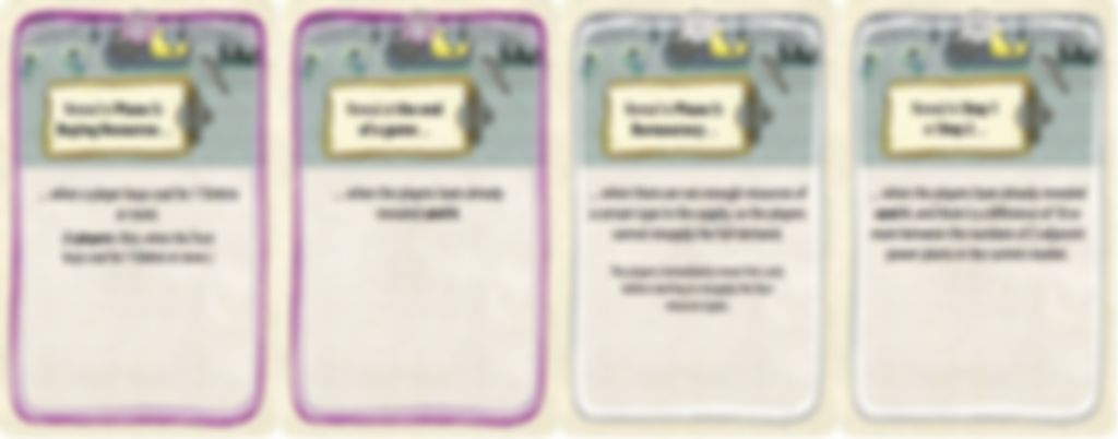 Power Grid: Fabled Expansion cartes