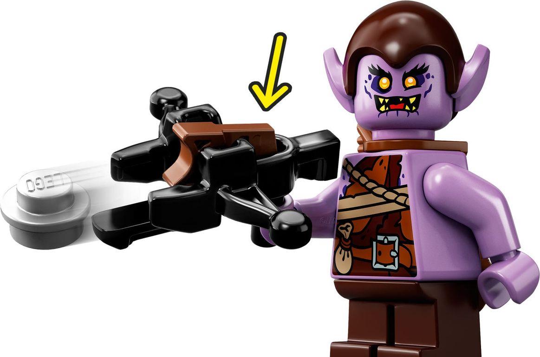 LEGO® Ninjago Wu's Battle Dragon minifigures