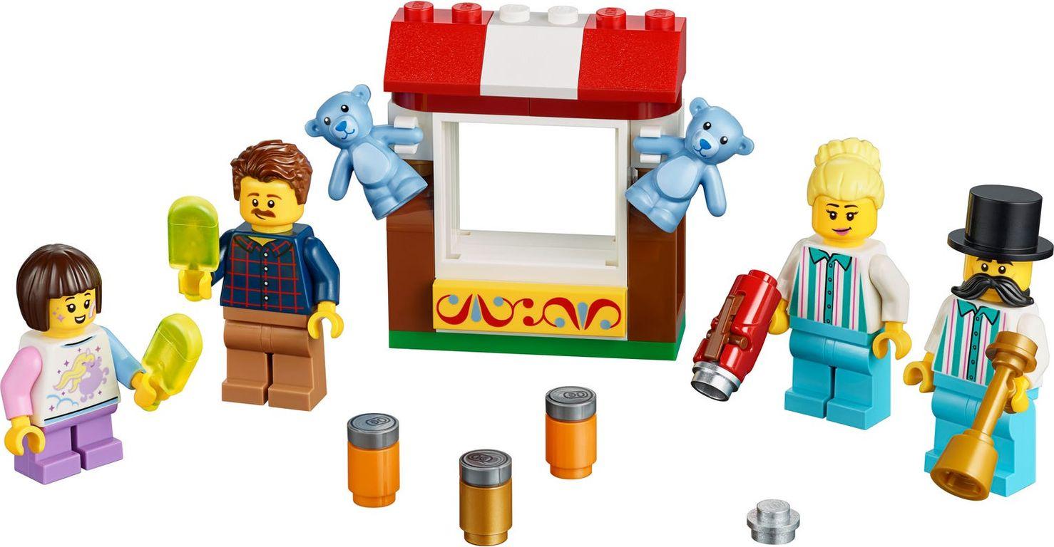 LEGO® Minifigures Fairground MF Acc. Set components