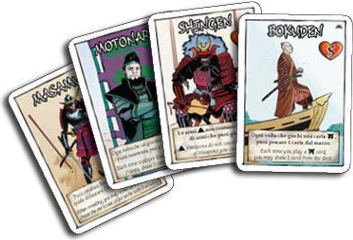 Samurai Sword: Rising Sun cards