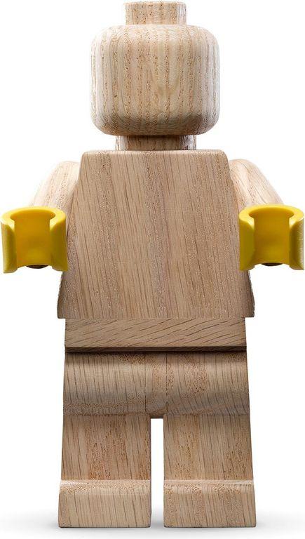 Wooden Minifigure components
