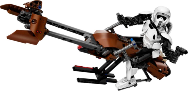 Scout Trooper™ & Speeder Bike™ components