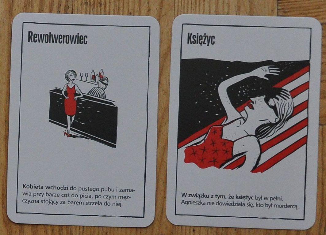 Black Stories cards