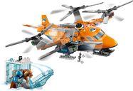 LEGO® City Arctic Air Transport components