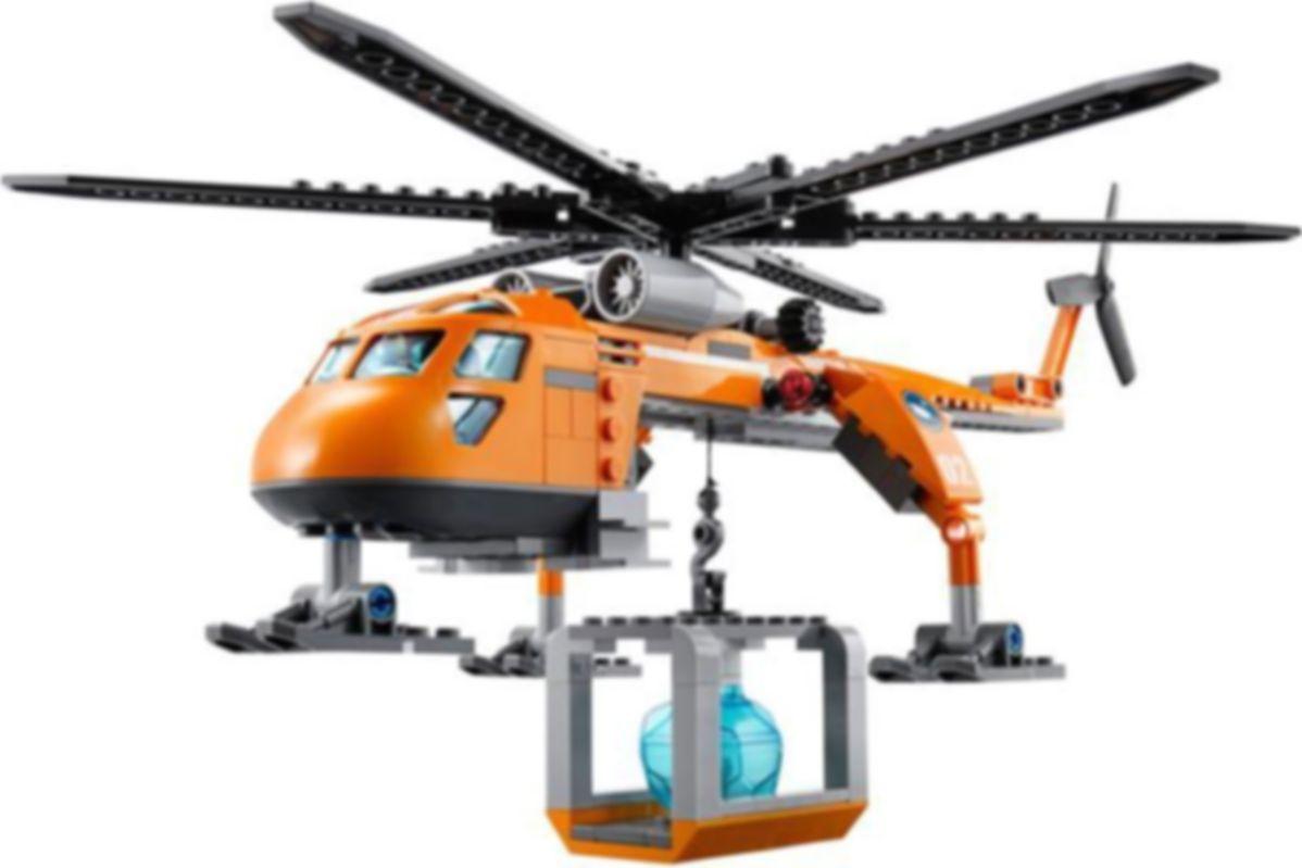 LEGO® City Arctic Helicrane components