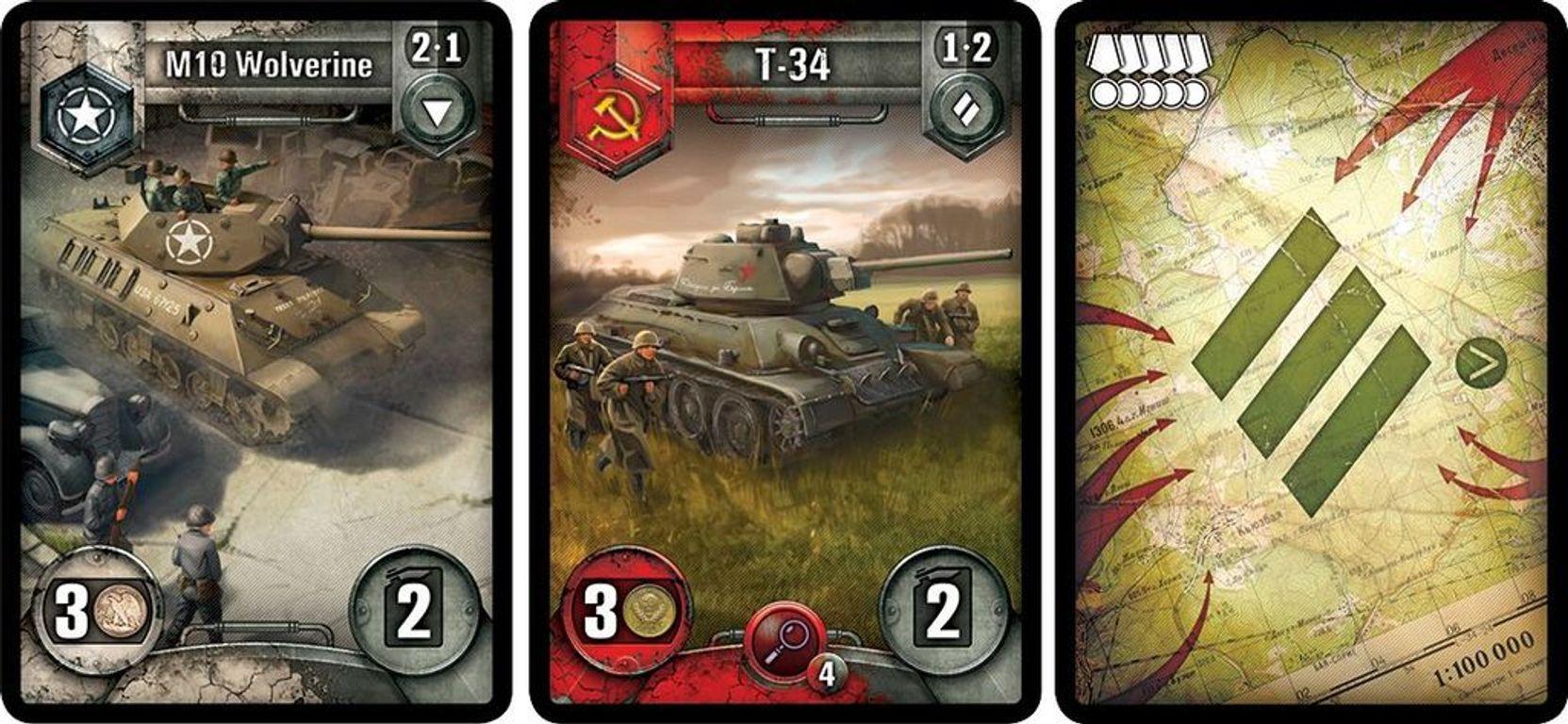 World Of Tanks Rush cards