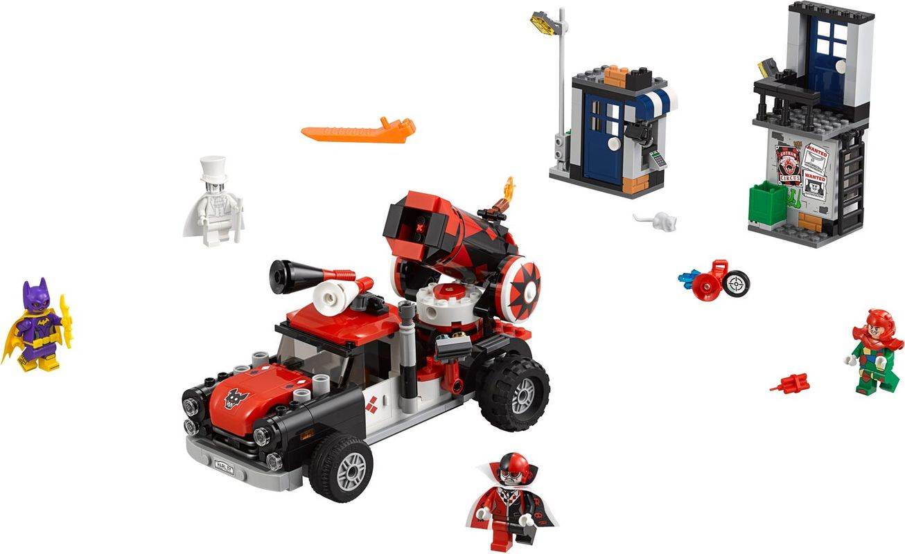 Harley Quinn™ Cannonball Attack components