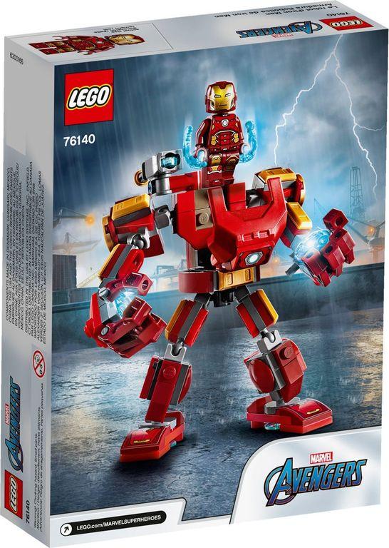 Iron Man Mech back of the box