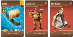 Shipwrights of the North Sea cards