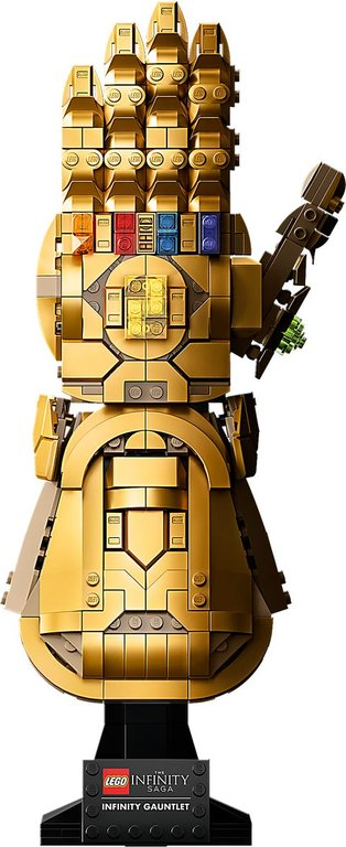 LEGO® Marvel Infinity Gauntlet back side