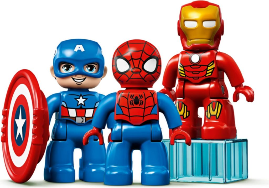 LEGO® DUPLO® Super Heroes Lab minifigures