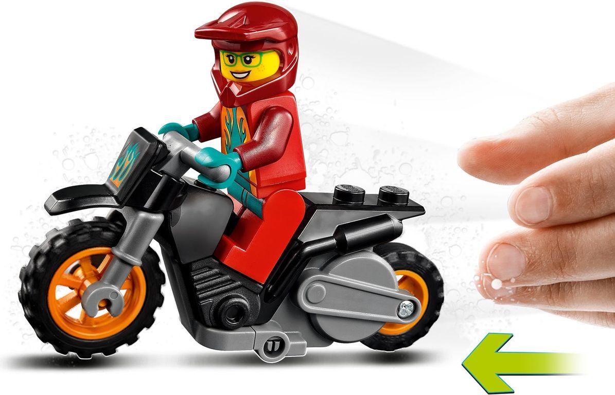 LEGO® City Fire Stunt Bike components