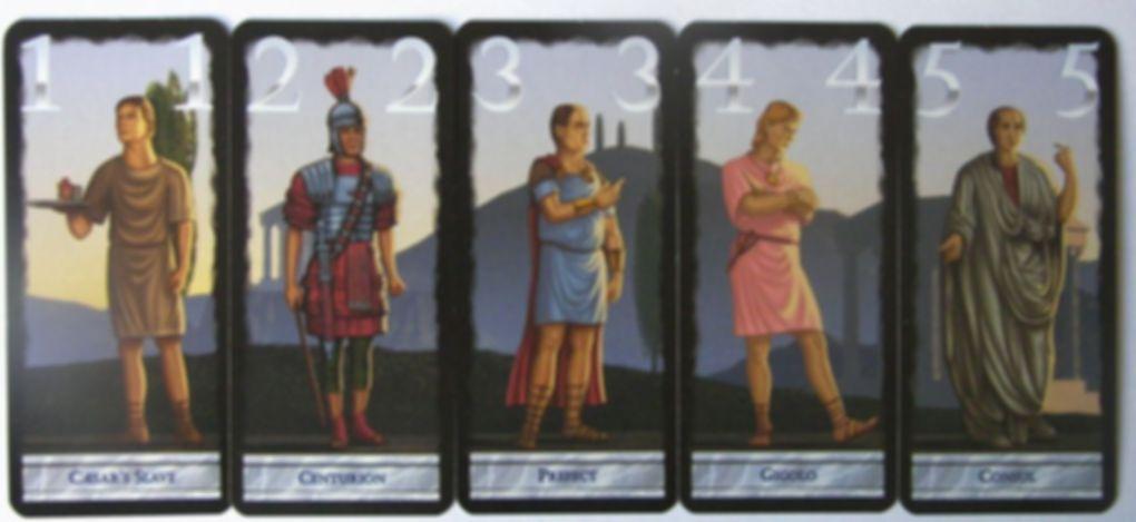 Caesar & Cleopatra cards