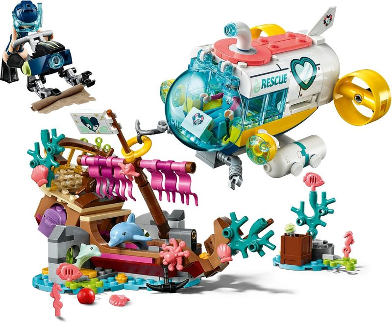 LEGO® Friends Dolphins Rescue Action gameplay