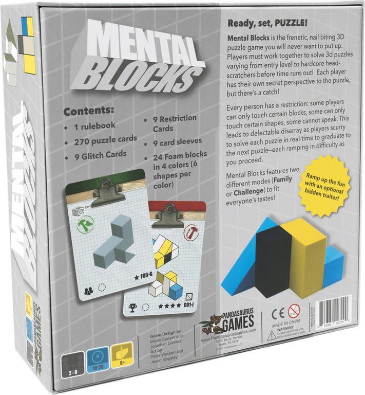 Mental Blocks back of the box