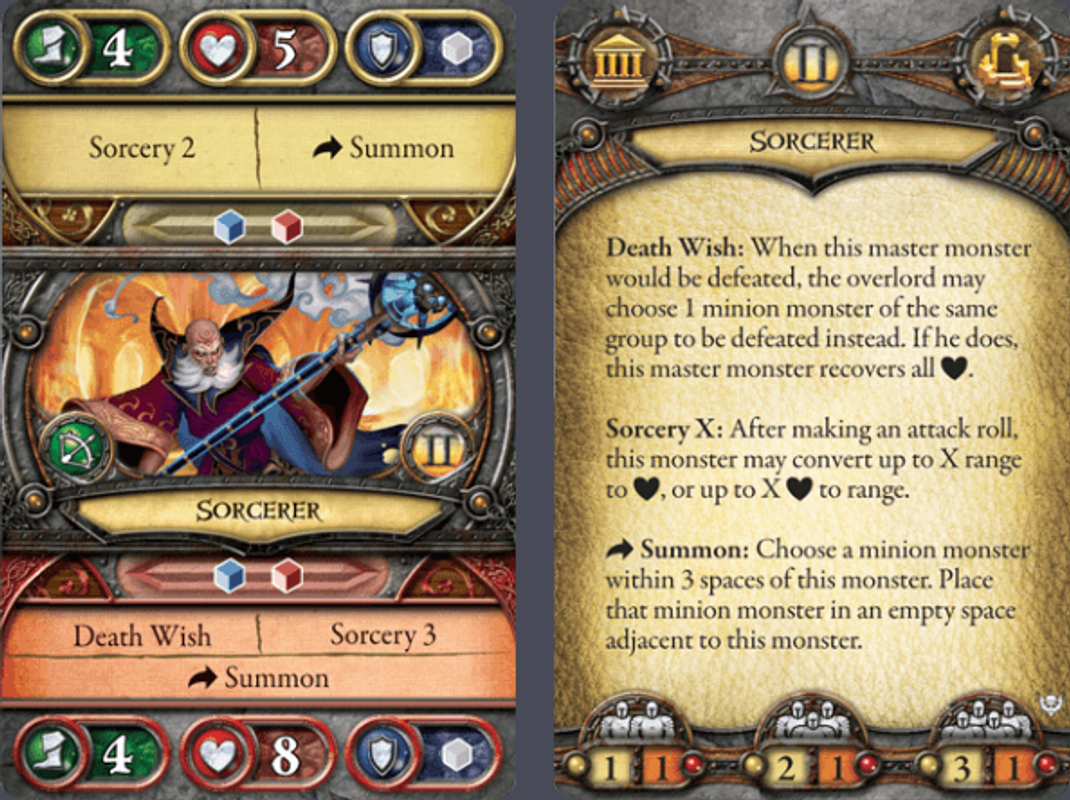 Descent: Journeys in the Dark (Second Edition) – Crusade of the Forgotten cards