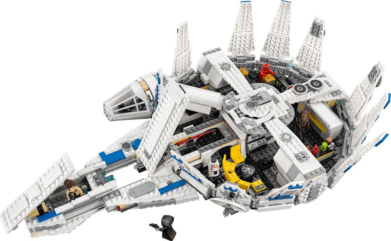 LEGO® Star Wars Kessel Run Millennium Falcon™ interior