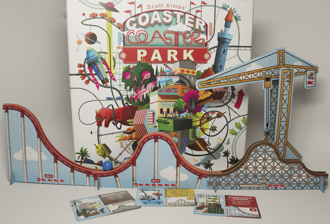 Coaster Park components