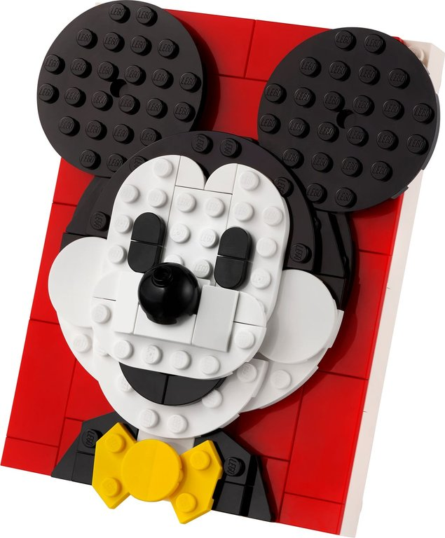 LEGO® Brick Sketches™ Mickey Mouse components