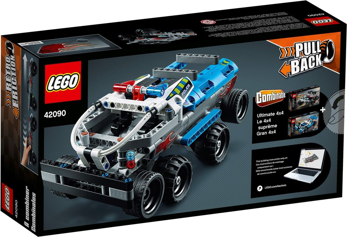 Getaway Truck back of the box