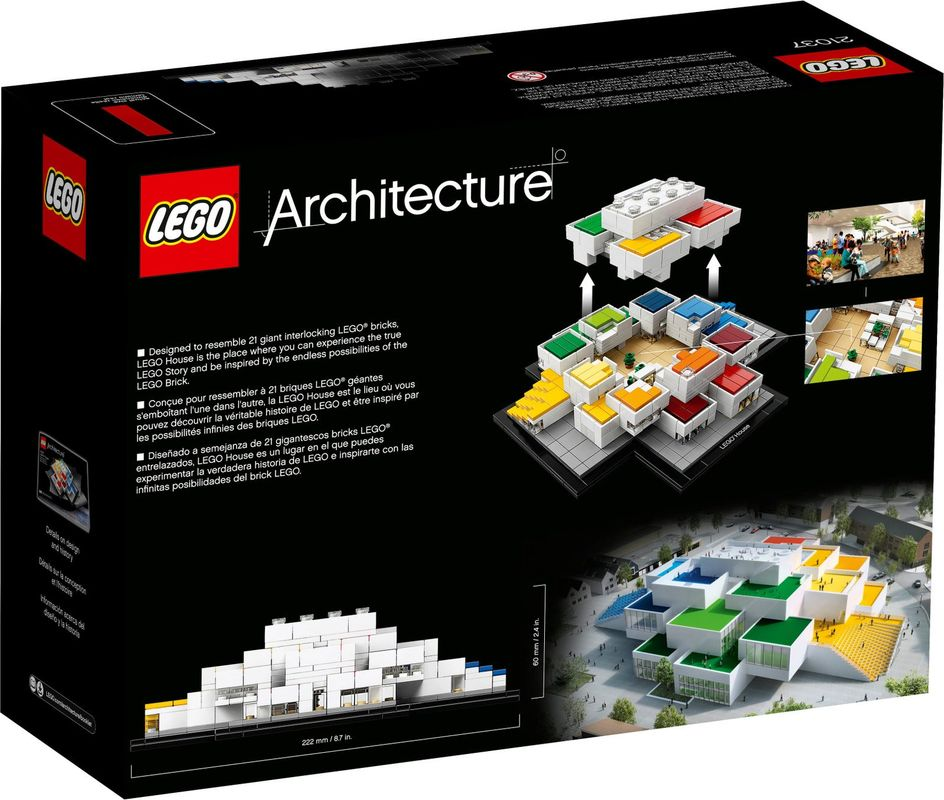 LEGO® House back of the box