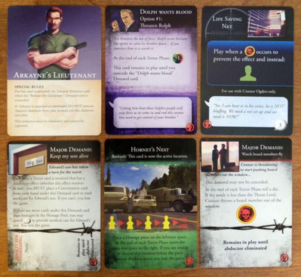 Hostage Negotiator: Demand Pack #1 cards