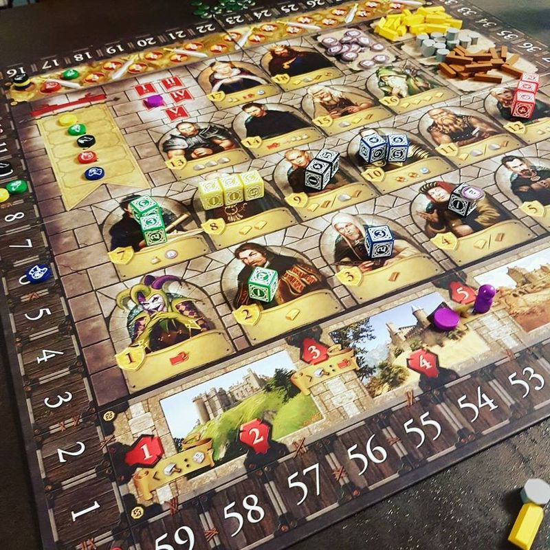 Kingsburg (Second Edition) gameplay
